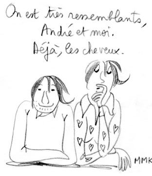 Hommage d'André Manoukian à Caroline Fourest