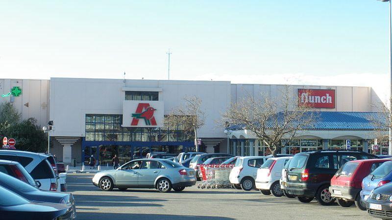 Auchan Avignon-nord en l'état actuel