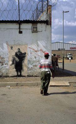 Ernest Pignon-Ernest - Soweto-Warwick-Durban