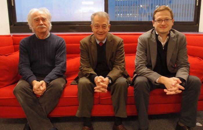 Jean Radvanyi, Philippe de Suremain et Alexis Prokopiev