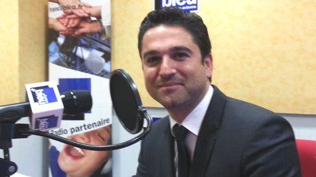 Arnaud Robinet député UMP candidat maire de Reims France Bleu Champagne-Ardenne