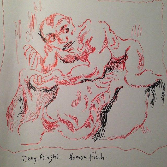 """""""Human Flesh"""" de Zeng Fanshi"""