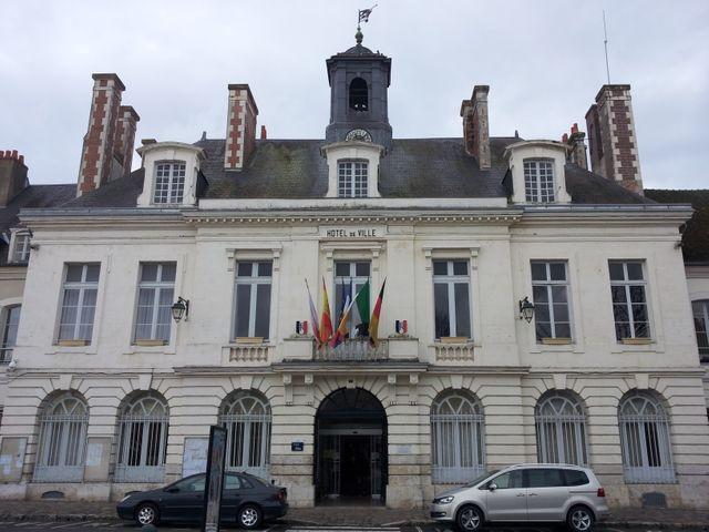 La mairie de Châteaudun