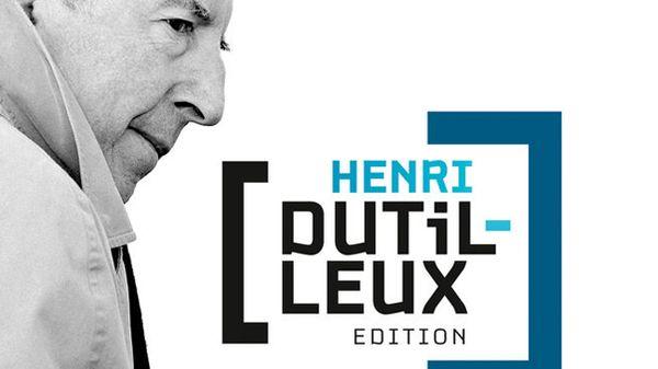 """Coffret """"Henri Dutilleux Edition"""" : coup de cœur de la semaine pour Emilie Munera"""