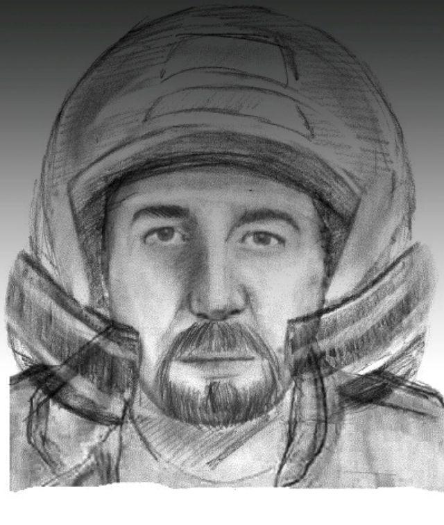 La gendarmerie nationale a diffusé le portrait-robot d'un motard aperçu sur les lieux du quadruple meurtre à Chevaline (Haute-Sa