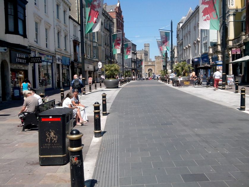 Cardiff, Saint-Mary Street