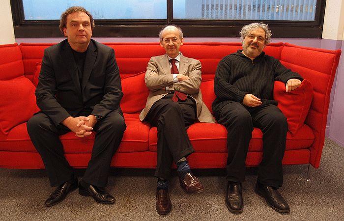 Emmanuel Martinod, Philippe Menasché et Rémi Sussan