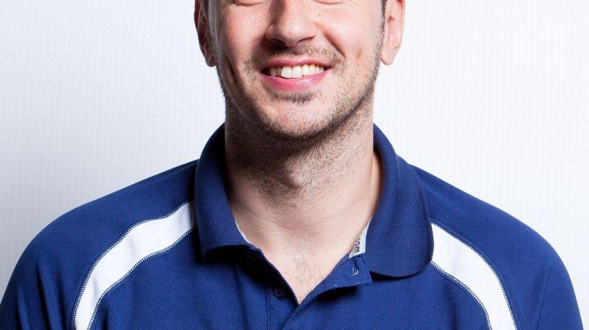 Thomas Andrieux - entraineur de l'équipe b du BBD désigné porte parole des centres de formation Pro B