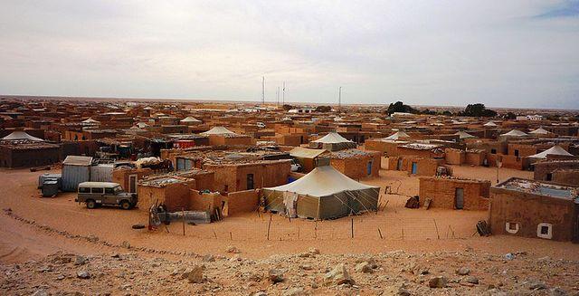 Camp de réfugiés sahraouis