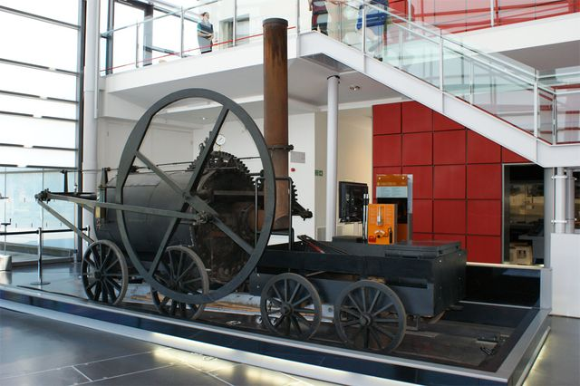 La locomotive Pen y Darren de Richard Trevithick (1804)