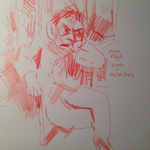 """""""Melancholy"""" de Zeng Fanshi"""