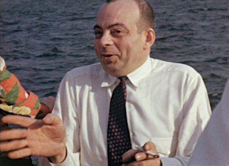 Antoine de Saint-Exupéry sur un bateau, au Canada