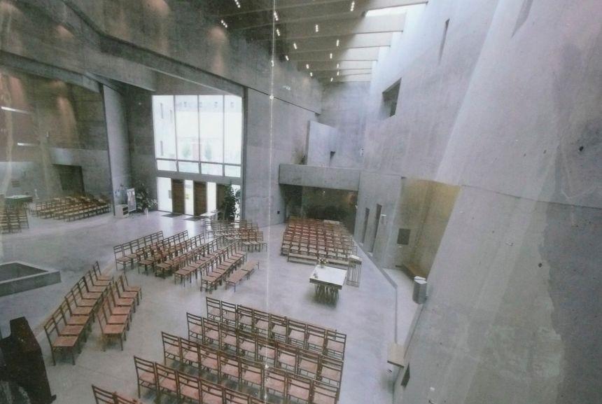 Intérieur de l'église de Rieselfeld