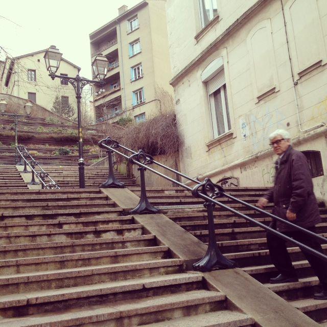 "Raymond Vasselon dans le ""Montmartre stéphanois"""