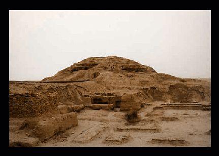 Ruines du temple d'Inanna par Carmen Asensio