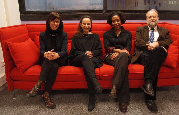 Valérie Marty, Caroline Eliacheff, Marie-Laure Brival et Claude Berruer