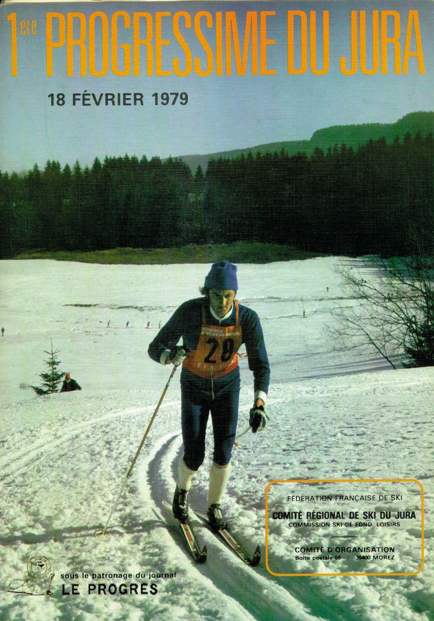 Affiche transjurassienne 1979, transju, lamoura, Mouthe