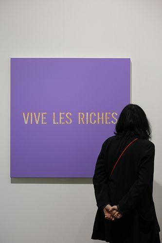 vive les riches