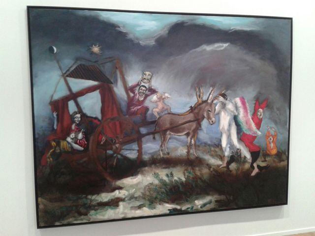 Gérard Garouste - Le théâtre de Don Quichotte