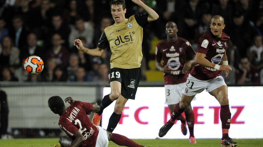 Nancy - Metz le derby lorrain, match aller du 24 septembre 2013.
