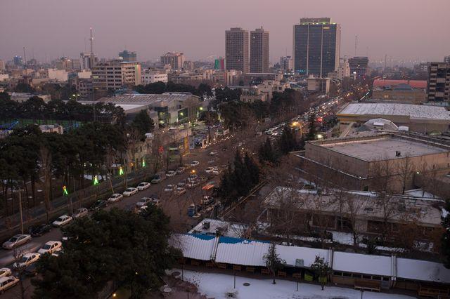 Téhéran, vue générale