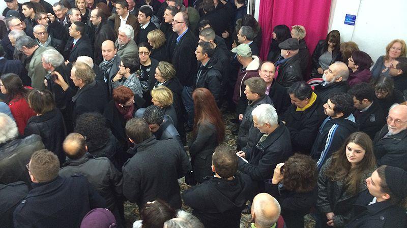 Inauguration du loacl de campagne de Benjamin Mathéaud à Alès