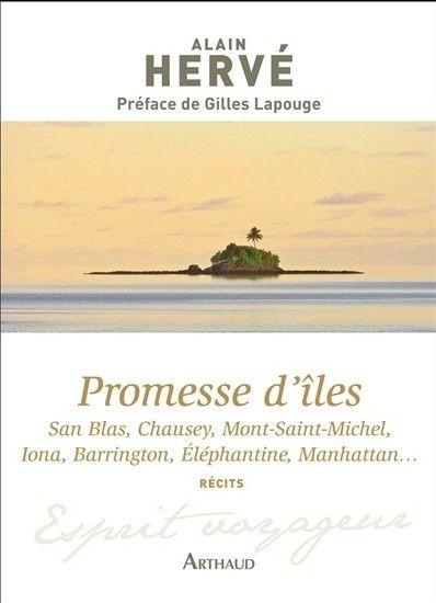 Promesse d'îles d'Alain Hervé - Arthaud