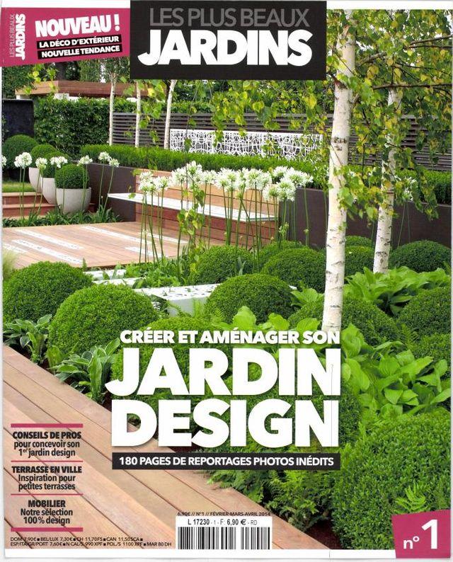 La revue : Les plus beaux jardins. N°1