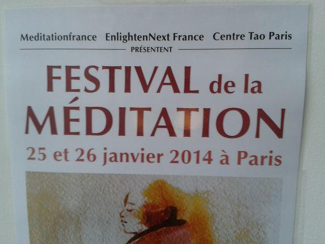 1er Festival de la Méditation - Revenir à soi