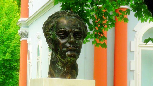 Buste de Son Altesse Royale Nicolas II Petrović Njegoš, Prince héritier du Monténégro - Petar Lubarda