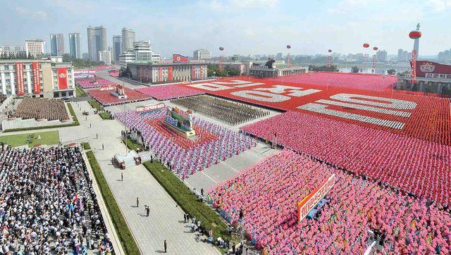Corée du nord : 65e anniversaire de la fondation du pays