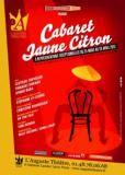 Cabaret Jaune Citron à l'Auguste Theatre.