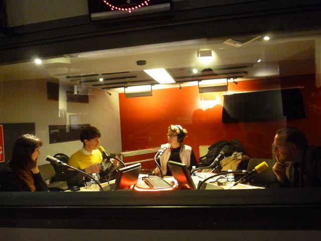 en studio avec nos invités