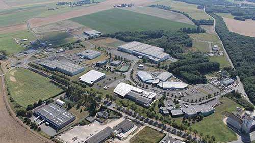 Laser Contact installé à Node Park à Tauxigny