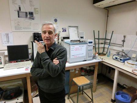 Michel AUDRAN, Directeur du laboratoire de biophysique et de bioanalyse, Faculté de Pharmacie de Montpellier