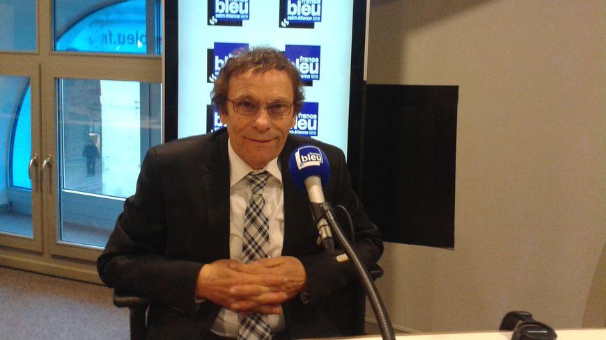 Roland Romeyer, président de l'AS Saint-Etienne