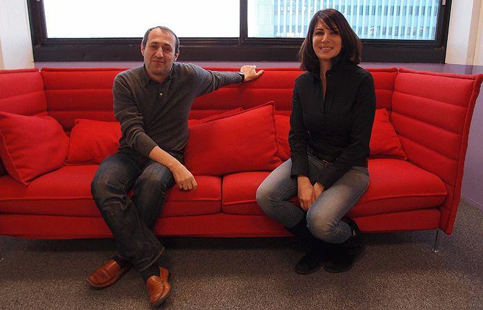 Gilles Dorronsoro et Randa Kassis
