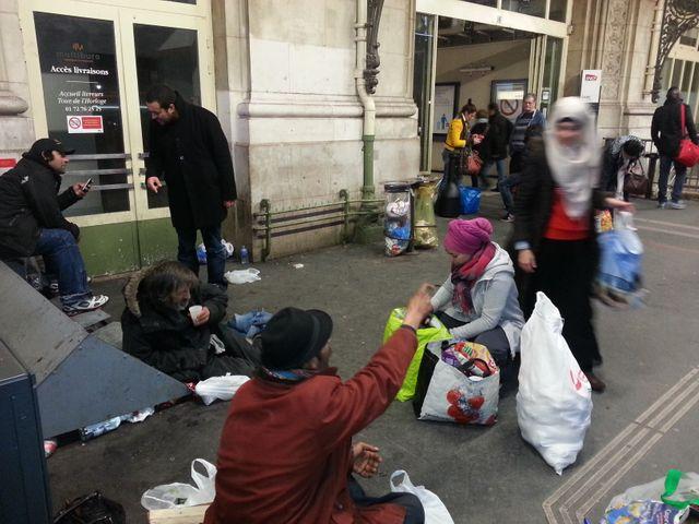 Maraude Banlieue + à la Gare de Lyon à Paris
