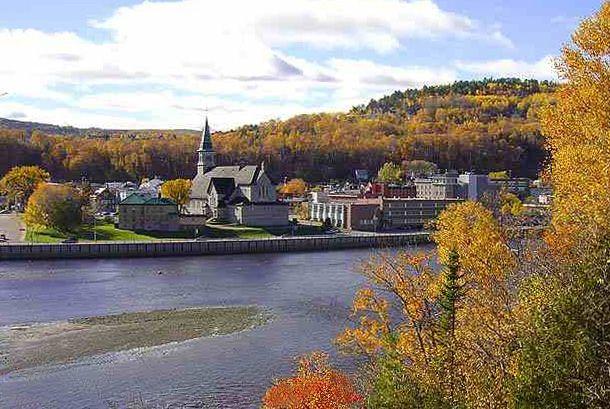 La Malbaie au Quebec