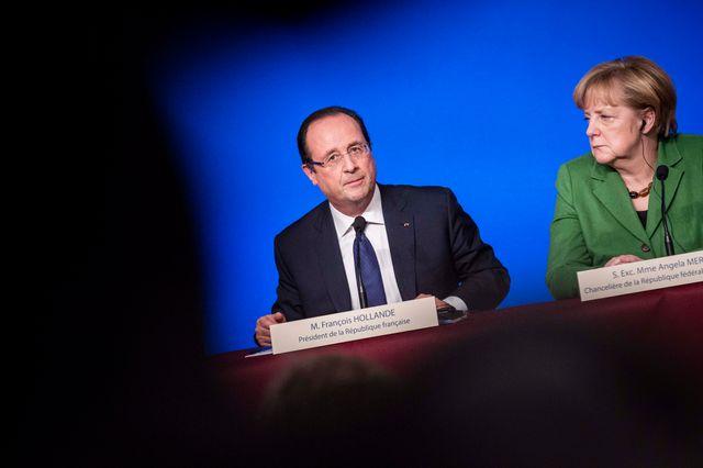 Hollande et Merkel se retrouvent ce mercredi à l'Elysée