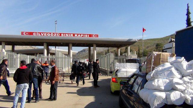 A la frontière Syrie-Turquie