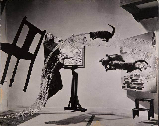 Philippe Halsman, Dalí Atomicus, 1948 Musée de l'Elysée