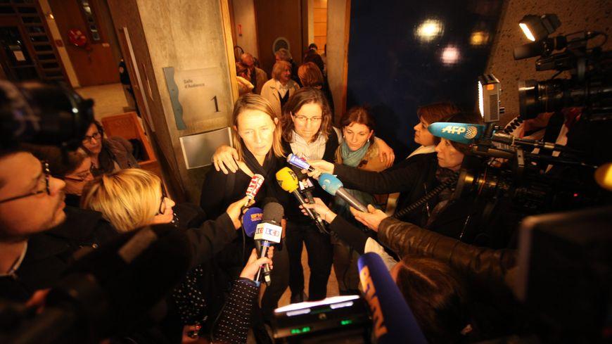 A l'issue du verdict, les parties civiles ont confié leur soulagement