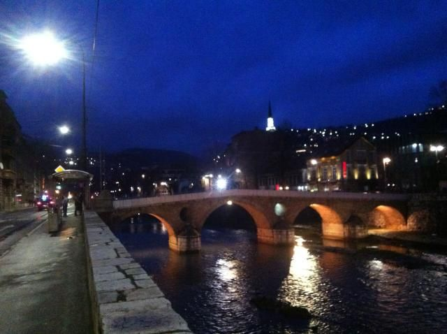 Le pont de Sarajevo