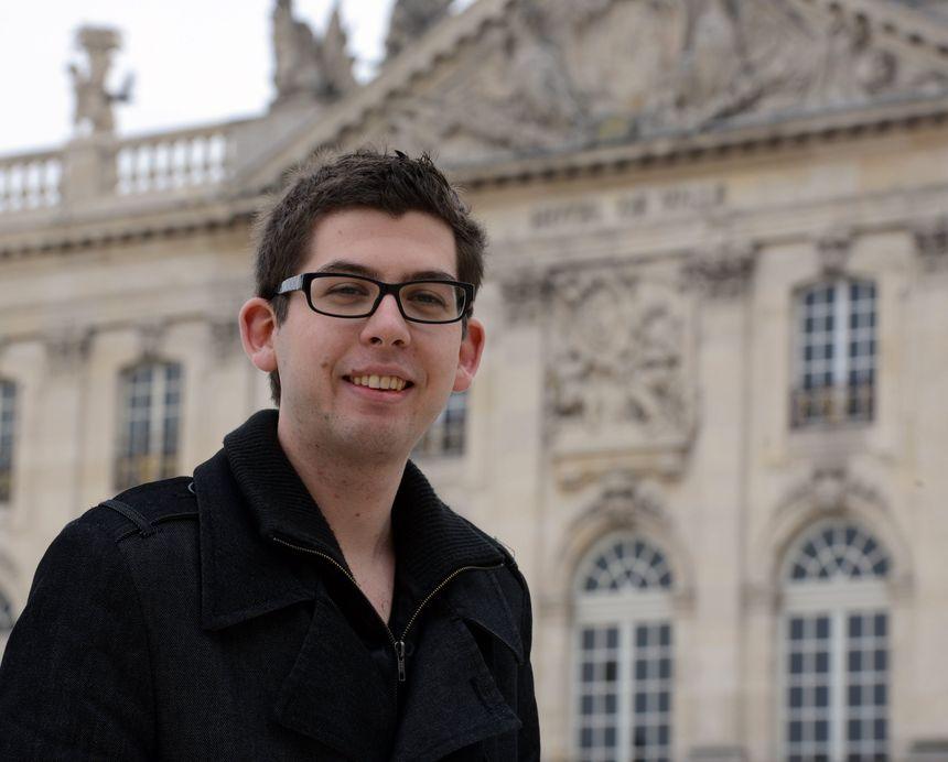 Pierre Ducarne, candidat FN aux élections municipales de 2014 à Nancy.