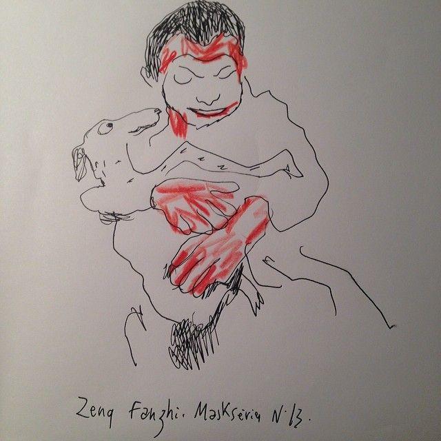 """""""Maskseries"""" de Zeng Fanshi"""