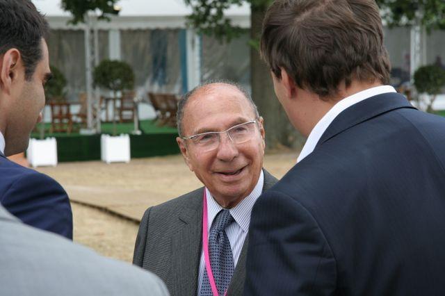 Serge Dassault en septembre 2009 à l'université d'été du MEDEF