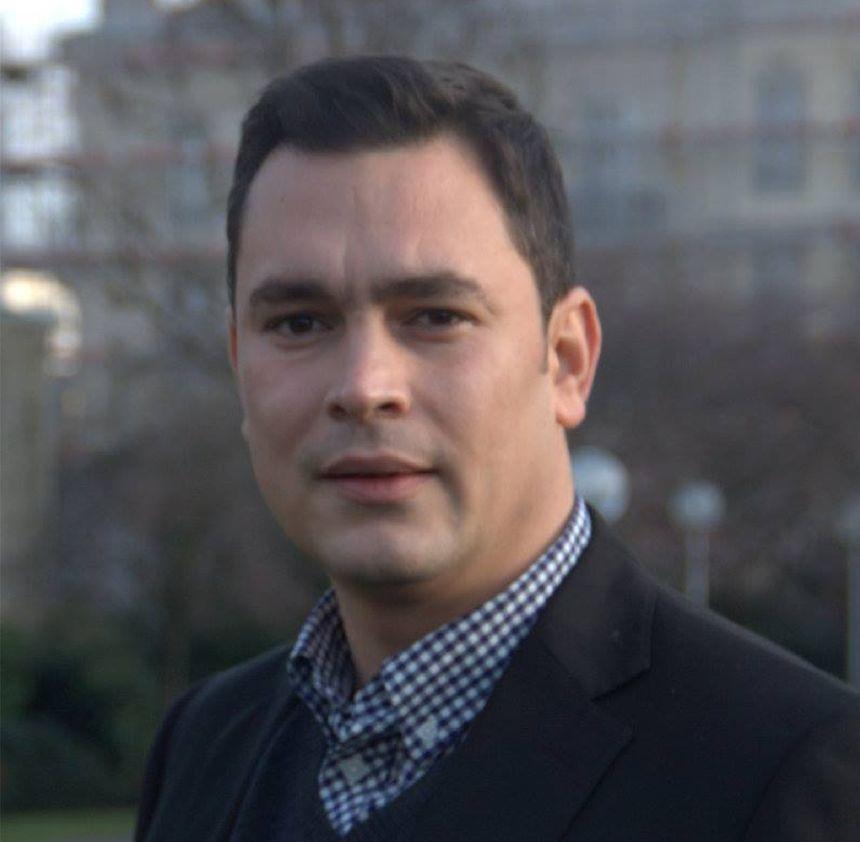 Bora Yilmaz, tête de liste du Front de gauche aux municipales de Nancy.