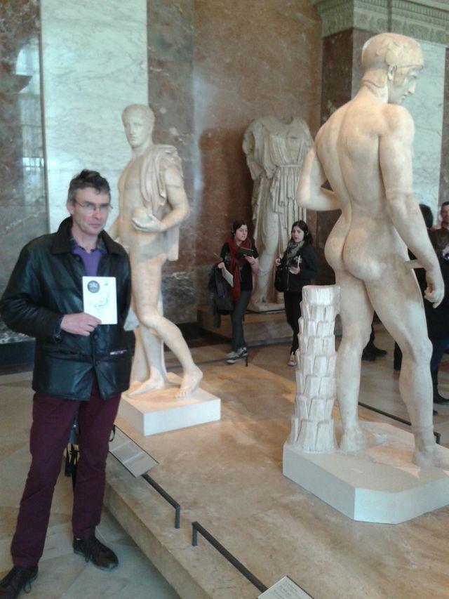 Bruno de Baecque et les fesses d'Arès Borghèse