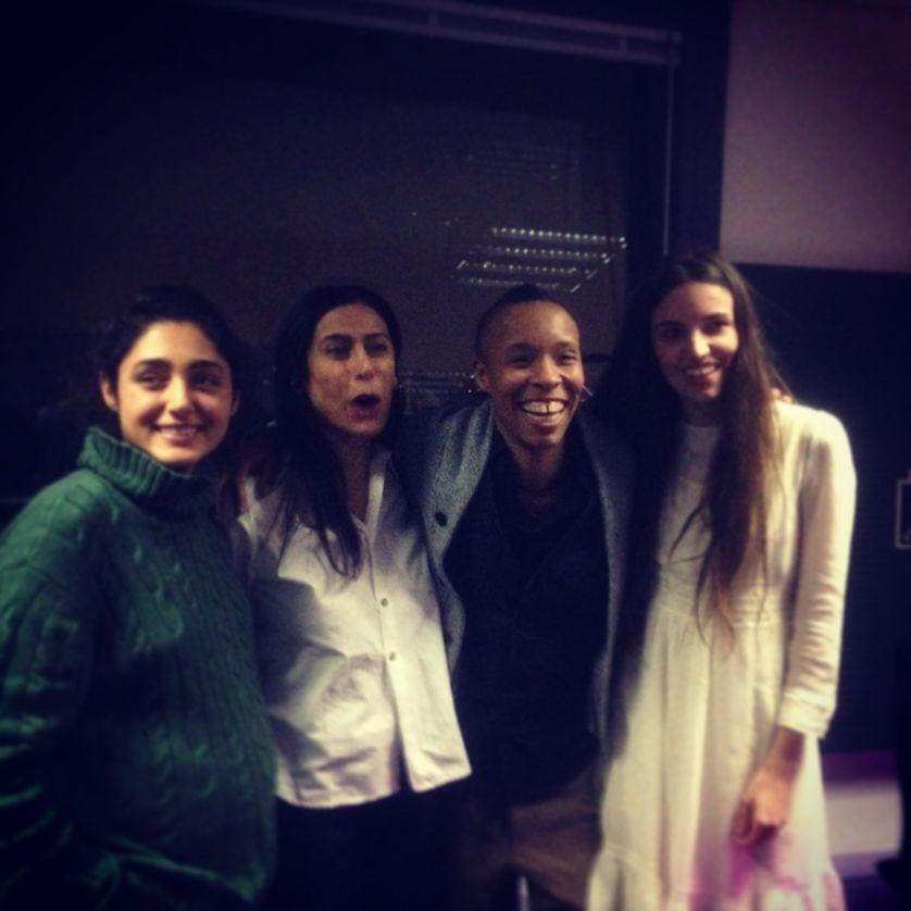 Golshifteh Farahani, Nahal Tajadod, Hanifa Walida, Aurélie Charon